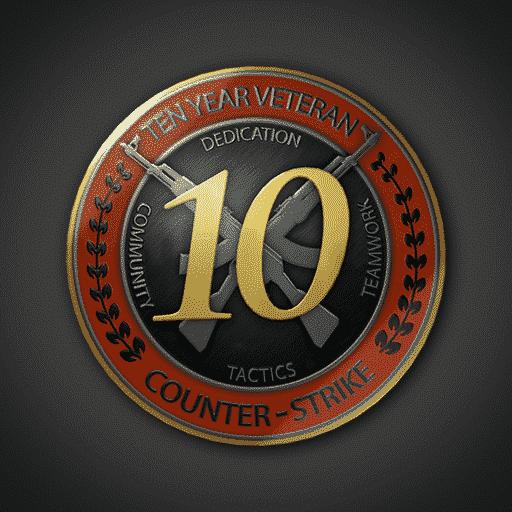 CSGO 5 & 10 Year Old Steam Account